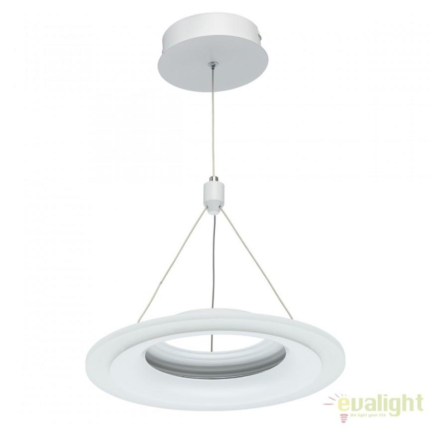 Lustra LED design moden Techno 32cm 661016401 MW, Lustre LED, Pendule LED, Corpuri de iluminat, lustre, aplice, veioze, lampadare, plafoniere. Mobilier si decoratiuni, oglinzi, scaune, fotolii. Oferte speciale iluminat interior si exterior. Livram in toata tara.  a
