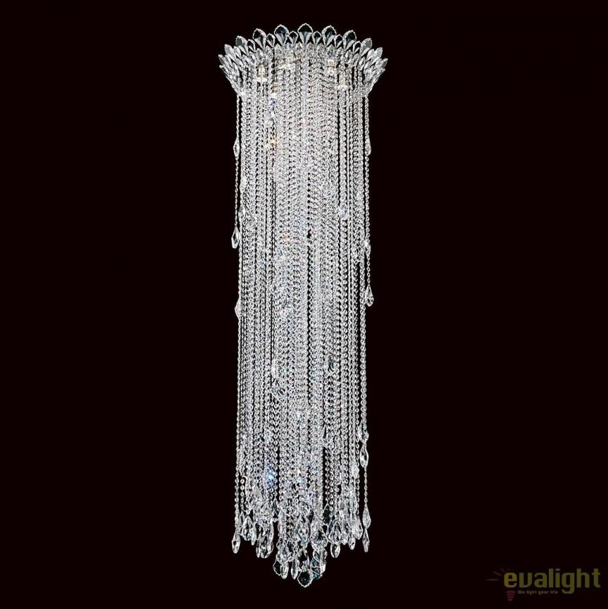 Lustra aplicata design LUX cristal Heritage, Trilliane 61cm, H-180cm TR2403, Magazin, Corpuri de iluminat, lustre, aplice, veioze, lampadare, plafoniere. Mobilier si decoratiuni, oglinzi, scaune, fotolii. Oferte speciale iluminat interior si exterior. Livram in toata tara.  a