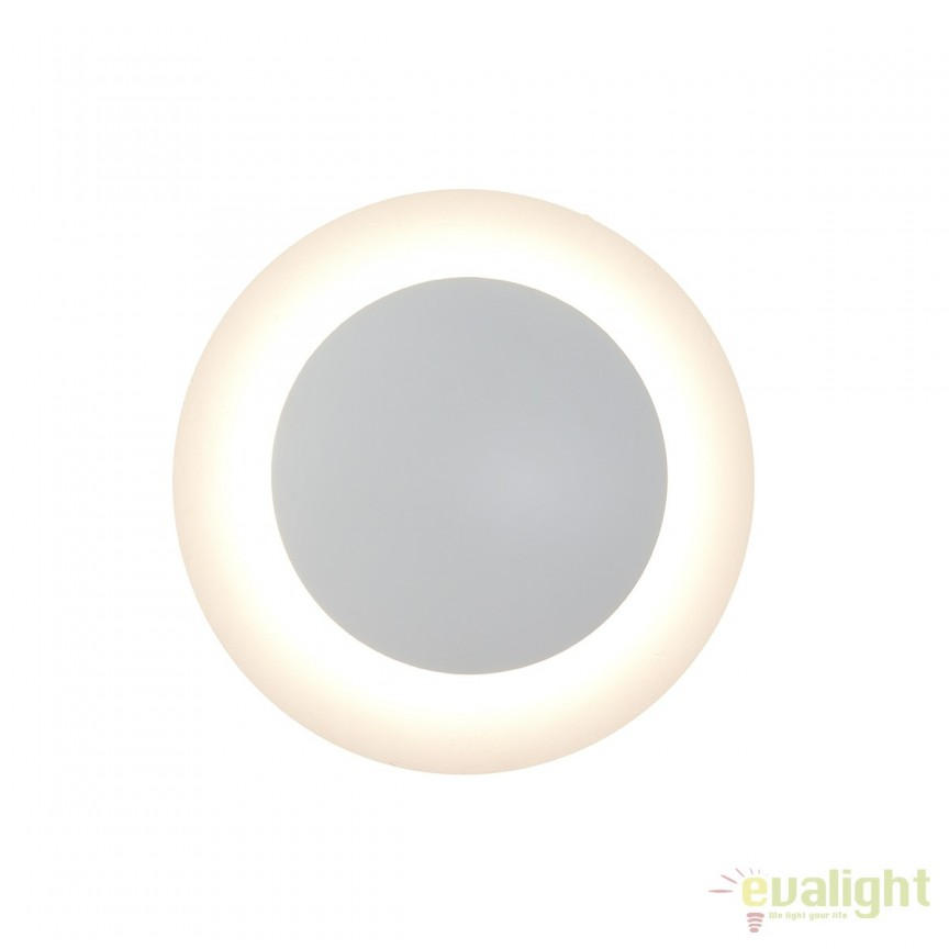 Aplica LED moderna cu lumina indirecta MORAN 217200 SU, Aplice de perete simple, Corpuri de iluminat, lustre, aplice, veioze, lampadare, plafoniere. Mobilier si decoratiuni, oglinzi, scaune, fotolii. Oferte speciale iluminat interior si exterior. Livram in toata tara.  a