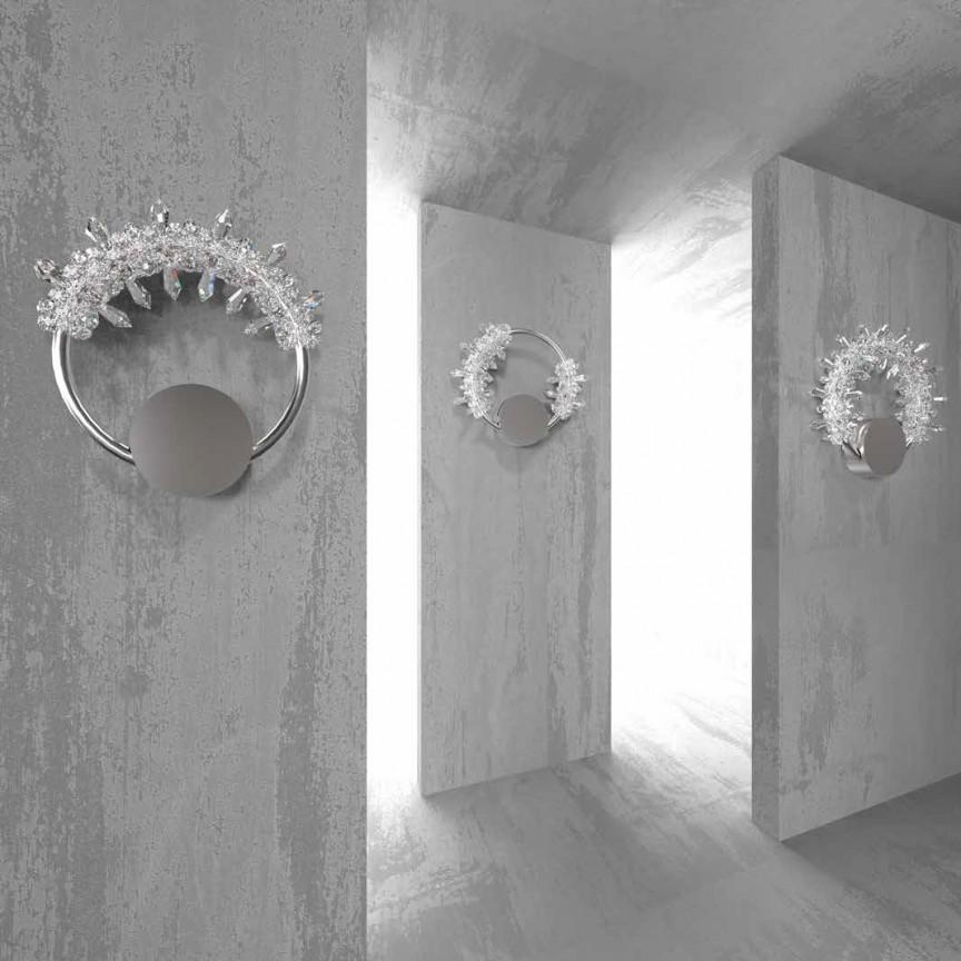 Aplica LED moderna design LUX cristal SPARKLING FROST 25cm, Aplice Cristal Bohemia, Corpuri de iluminat, lustre, aplice, veioze, lampadare, plafoniere. Mobilier si decoratiuni, oglinzi, scaune, fotolii. Oferte speciale iluminat interior si exterior. Livram in toata tara.  a