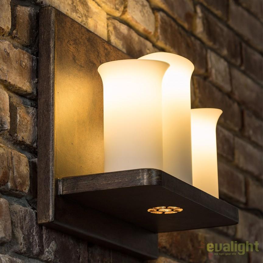 Aplica din fier forjat cu 3 surse de lumina, WL 3603, spot -downlight- , Candelabre si Lustre moderne elegante⭐ modele clasice de lux pentru living, bucatarie si dormitor.✅ DeSiGn actual Top 2020!❤️Promotii lampi❗ ➽ www.evalight.ro. Oferte corpuri de iluminat suspendate pt camere de interior (înalte), suspensii (lungi) de tip lustre si candelabre, pendule decorative stil modern, clasic, rustic, baroc, scandinav, retro sau vintage, aplicate pe perete sau de tavan, cu cristale, abajur din material textil, lemn, metal, sticla, bec Edison sau LED, ieftine de calitate deosebita la cel mai bun pret. a