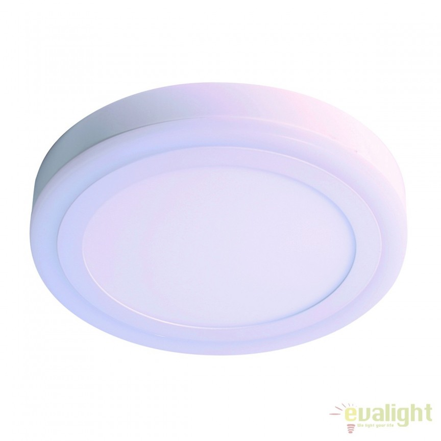 Plafoniera LED moderna TWIS round 101225 SU, ILUMINAT INTERIOR LED , Corpuri de iluminat, lustre, aplice, veioze, lampadare, plafoniere. Mobilier si decoratiuni, oglinzi, scaune, fotolii. Oferte speciale iluminat interior si exterior. Livram in toata tara.  a