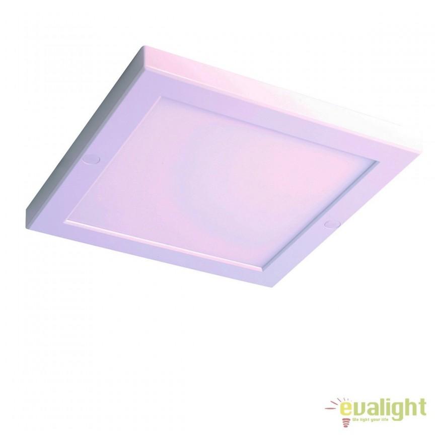 Plafoniera LED cu senzor de miscare CIFO 100770 SU, ILUMINAT INTERIOR LED , Corpuri de iluminat, lustre, aplice, veioze, lampadare, plafoniere. Mobilier si decoratiuni, oglinzi, scaune, fotolii. Oferte speciale iluminat interior si exterior. Livram in toata tara.  a