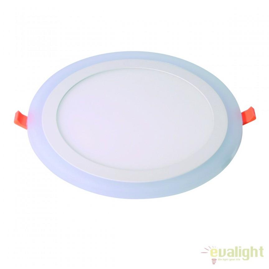 Spot LED incastrabil TWIS 24,5cm 101224 SU, Spoturi LED incastrate, aplicate, Corpuri de iluminat, lustre, aplice, veioze, lampadare, plafoniere. Mobilier si decoratiuni, oglinzi, scaune, fotolii. Oferte speciale iluminat interior si exterior. Livram in toata tara.  a