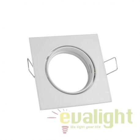 Rama Spot incastrabil perete / tavan SAND alb 101180 SU, Spoturi incastrate - tavan fals / perete, Corpuri de iluminat, lustre, aplice, veioze, lampadare, plafoniere. Mobilier si decoratiuni, oglinzi, scaune, fotolii. Oferte speciale iluminat interior si exterior. Livram in toata tara.  a