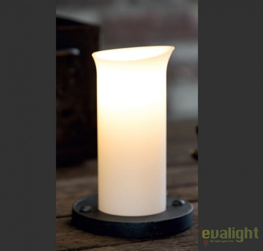 Lampa de masa din fier forjat design lumanare TL 4100, Veioze, Lampadare Fier Forjat,  a