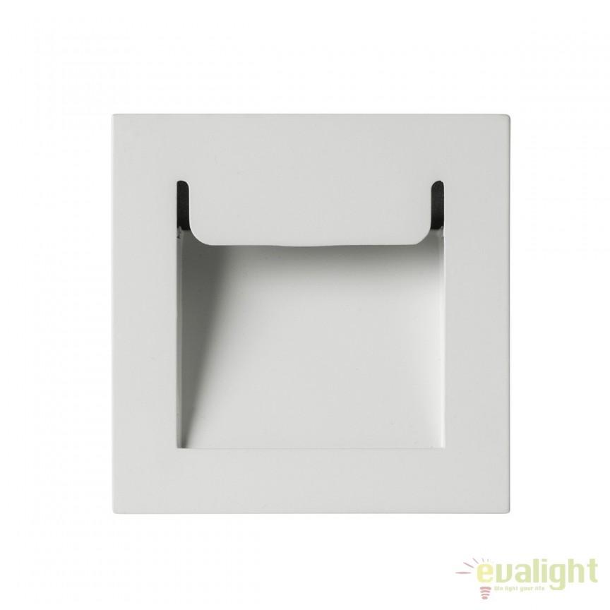 Spot LED incastrabil iluminat trepte scara ASTON II 100974 SU, Spoturi LED incastrate, aplicate, Corpuri de iluminat, lustre, aplice, veioze, lampadare, plafoniere. Mobilier si decoratiuni, oglinzi, scaune, fotolii. Oferte speciale iluminat interior si exterior. Livram in toata tara.  a