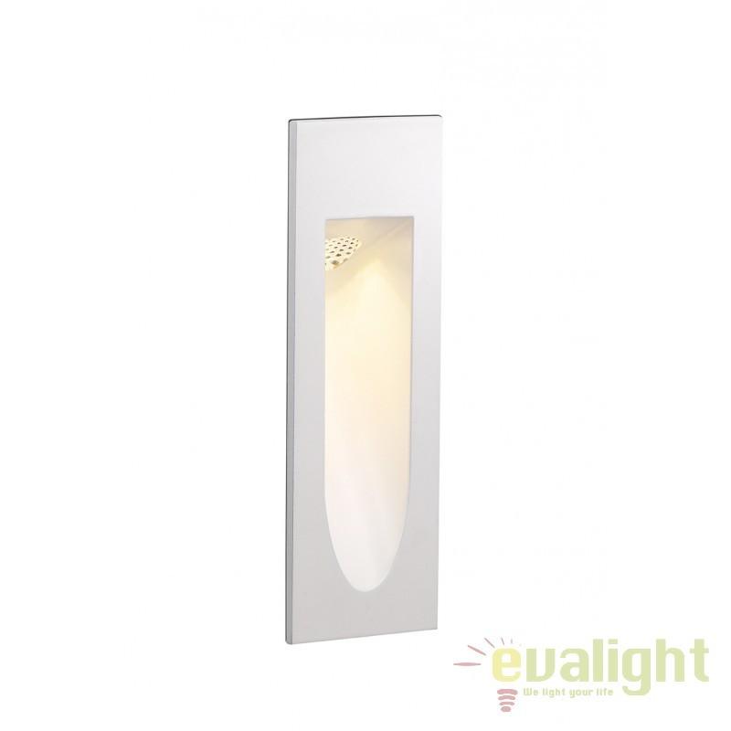Spot LED incastrabil marcator de scara IP55 ASTON II 111041 SU, Spoturi LED incastrate, aplicate, Corpuri de iluminat, lustre, aplice, veioze, lampadare, plafoniere. Mobilier si decoratiuni, oglinzi, scaune, fotolii. Oferte speciale iluminat interior si exterior. Livram in toata tara.  a
