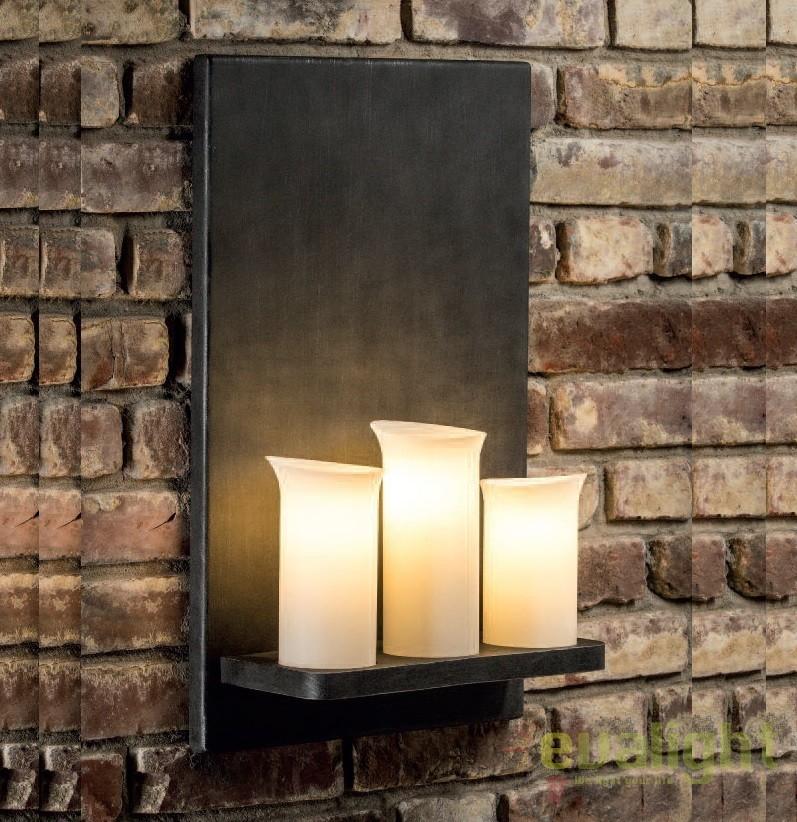 Aplica din fier forjat cu 3 surse de lumina design lumanare WL 3655, Candelabre si Lustre moderne elegante⭐ modele clasice de lux pentru living, bucatarie si dormitor.✅ DeSiGn actual Top 2020!❤️Promotii lampi❗ ➽ www.evalight.ro. Oferte corpuri de iluminat suspendate pt camere de interior (înalte), suspensii (lungi) de tip lustre si candelabre, pendule decorative stil modern, clasic, rustic, baroc, scandinav, retro sau vintage, aplicate pe perete sau de tavan, cu cristale, abajur din material textil, lemn, metal, sticla, bec Edison sau LED, ieftine de calitate deosebita la cel mai bun pret. a