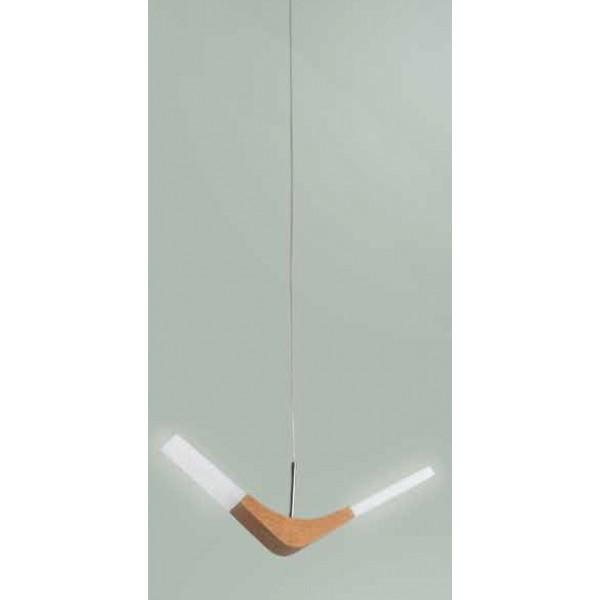 Lustra LED design modern din lemn DXD-14685-1 MARE 77-3599 HL, Cele mai noi produse 2018 a