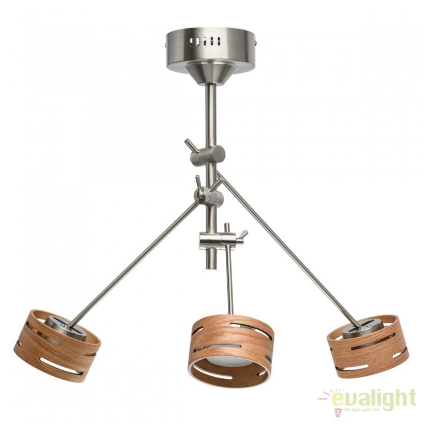 Lustra design modern LED REGEN nickel 725010103 MW, Cele mai noi produse 2018 a