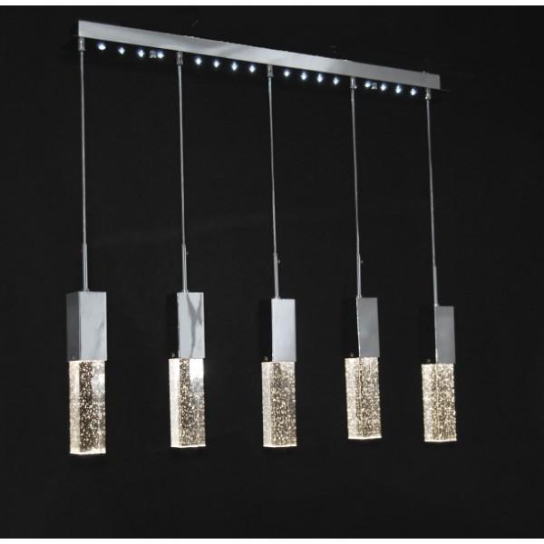Lustra moderna cu 5 pendule, inaltime reglabila, MD1001-5A ARMONIA 77-1531 HL, Cele mai noi produse 2018 a