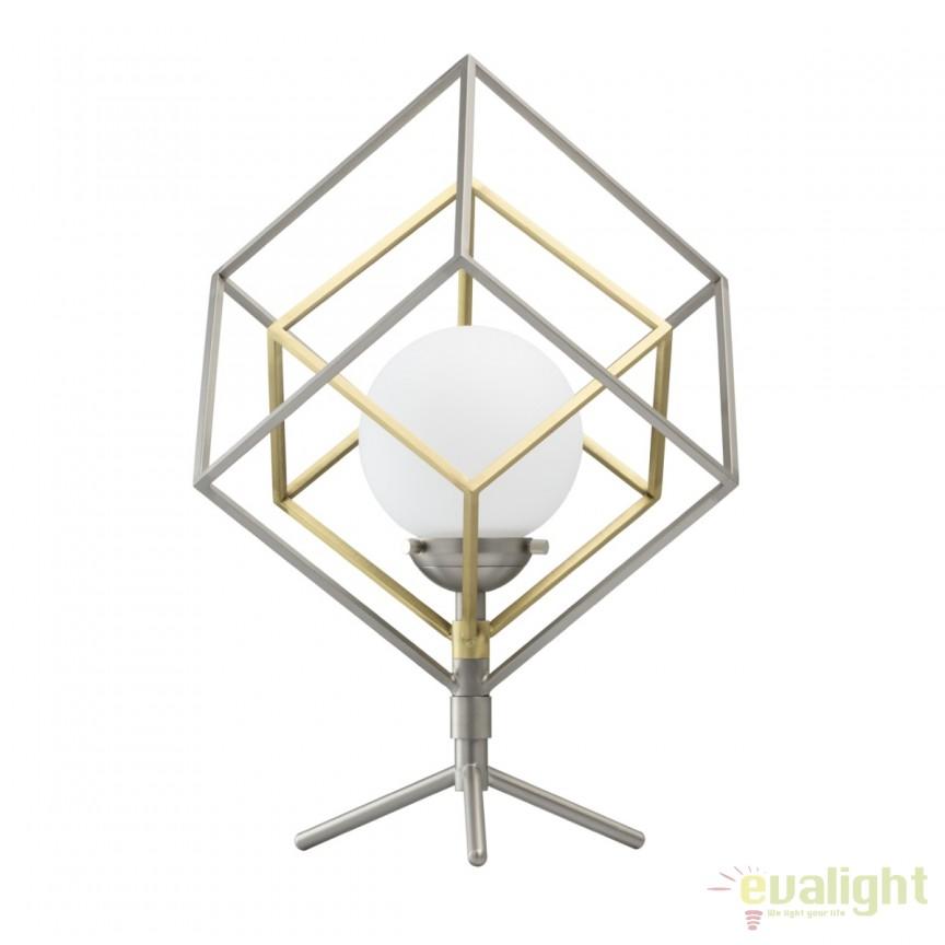 Veioza design modern LED MATRIX 726030401 MW, Veioze, Lampi de masa, Corpuri de iluminat, lustre, aplice, veioze, lampadare, plafoniere. Mobilier si decoratiuni, oglinzi, scaune, fotolii. Oferte speciale iluminat interior si exterior. Livram in toata tara.  a