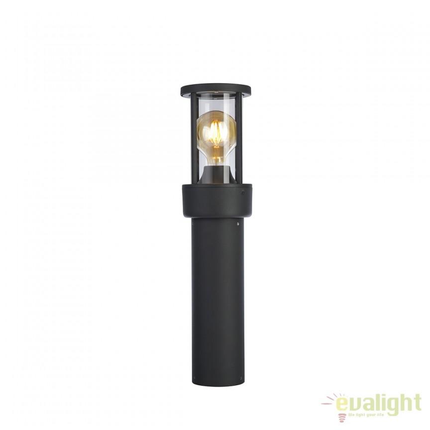 Stalp iluminat exterior IP44 RECORD 112295 SU, Stalpi de iluminat exterior mici si medii , Corpuri de iluminat, lustre, aplice, veioze, lampadare, plafoniere. Mobilier si decoratiuni, oglinzi, scaune, fotolii. Oferte speciale iluminat interior si exterior. Livram in toata tara.  a