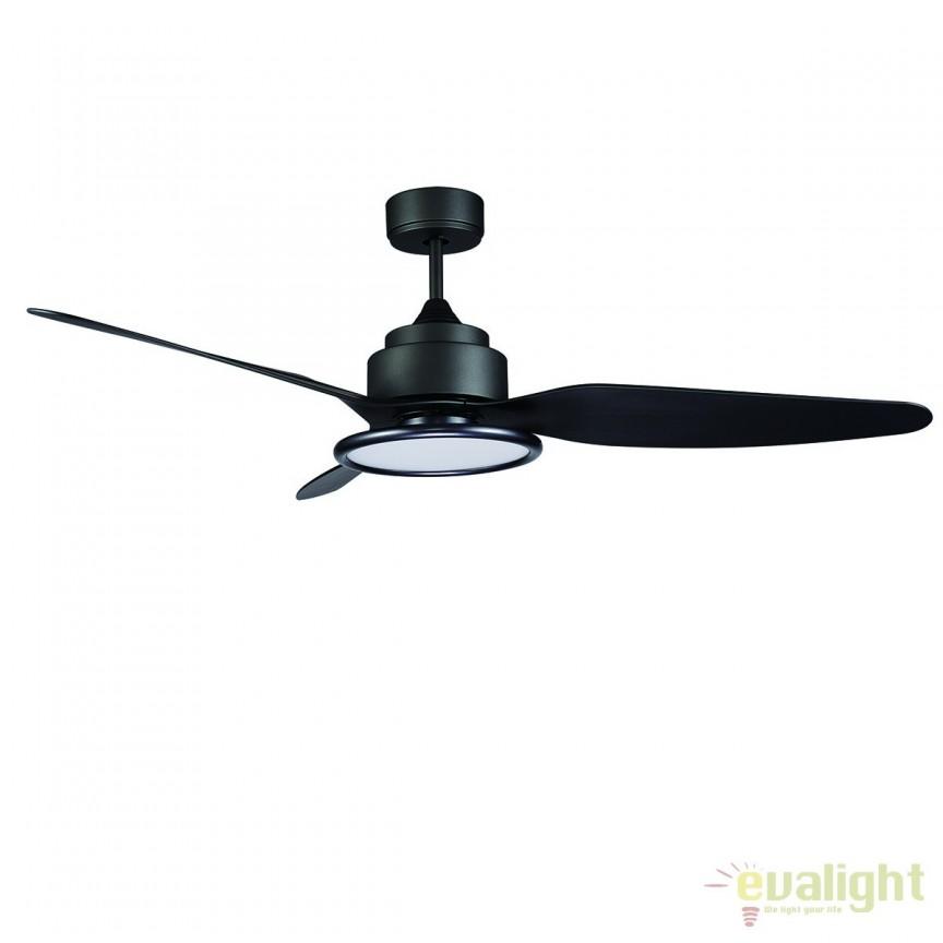 Lustra LED cu ventilator ultrasilentios si telecomanda FIERA G 072237 SU, PROMOTII, Corpuri de iluminat, lustre, aplice, veioze, lampadare, plafoniere. Mobilier si decoratiuni, oglinzi, scaune, fotolii. Oferte speciale iluminat interior si exterior. Livram in toata tara.  a