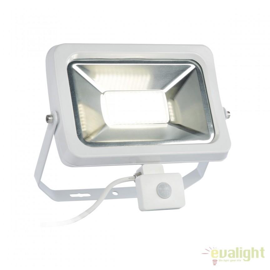 Proiector LED cu senzor de miscare pentru exterior MASINI 10W 112320 SU, Iluminat cu senzor de miscare, Corpuri de iluminat, lustre, aplice, veioze, lampadare, plafoniere. Mobilier si decoratiuni, oglinzi, scaune, fotolii. Oferte speciale iluminat interior si exterior. Livram in toata tara.  a