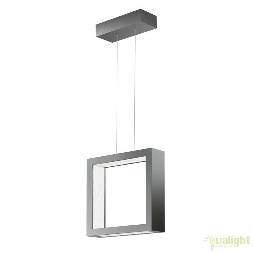 Lustra LUX cristal Swarovski ReveaLED 39cm, LED 3000K SRE120DE-SI1S-Glimmer Silver, Lustre Cristal Swarovski , Corpuri de iluminat, lustre, aplice, veioze, lampadare, plafoniere. Mobilier si decoratiuni, oglinzi, scaune, fotolii. Oferte speciale iluminat interior si exterior. Livram in toata tara.  a