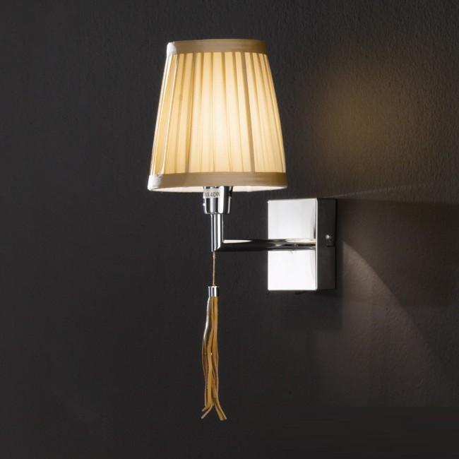 Aplica eleganta design clasic Cortina WA 2-1251/1 chrom OR, Aplice de perete clasice, Corpuri de iluminat, lustre, aplice, veioze, lampadare, plafoniere. Mobilier si decoratiuni, oglinzi, scaune, fotolii. Oferte speciale iluminat interior si exterior. Livram in toata tara.  a