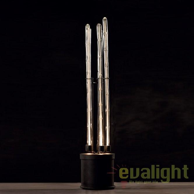 Lampa de podea din fier forjat design rustic ideal pentru hol, dormitor sau living SL 113, Veioze, Lampadare Fier Forjat,  a