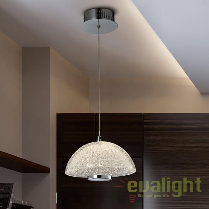 Pendul LED design modern Lua SV-726124, Lustre LED, Pendule LED, Corpuri de iluminat, lustre, aplice, veioze, lampadare, plafoniere. Mobilier si decoratiuni, oglinzi, scaune, fotolii. Oferte speciale iluminat interior si exterior. Livram in toata tara.  a