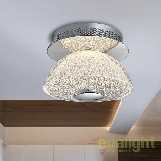 Plafoniera LED design modern Lua SV-726348, PROMOTII, Corpuri de iluminat, lustre, aplice, veioze, lampadare, plafoniere. Mobilier si decoratiuni, oglinzi, scaune, fotolii. Oferte speciale iluminat interior si exterior. Livram in toata tara.  a