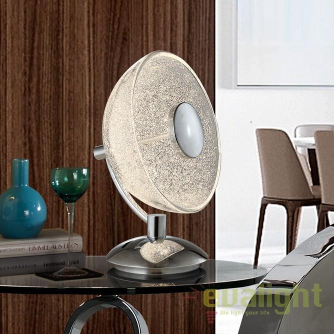 Lampa de masa LED / Veioza design modern Lua SV-726012, Veioze LED, Lampadare LED, Corpuri de iluminat, lustre, aplice, veioze, lampadare, plafoniere. Mobilier si decoratiuni, oglinzi, scaune, fotolii. Oferte speciale iluminat interior si exterior. Livram in toata tara.  a