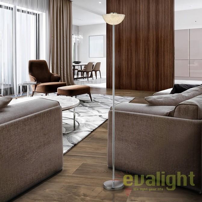 Lampa de podea LED / Lampadar design modern Lua SV-726439, Veioze LED, Lampadare LED, Corpuri de iluminat, lustre, aplice, veioze, lampadare, plafoniere. Mobilier si decoratiuni, oglinzi, scaune, fotolii. Oferte speciale iluminat interior si exterior. Livram in toata tara.  a