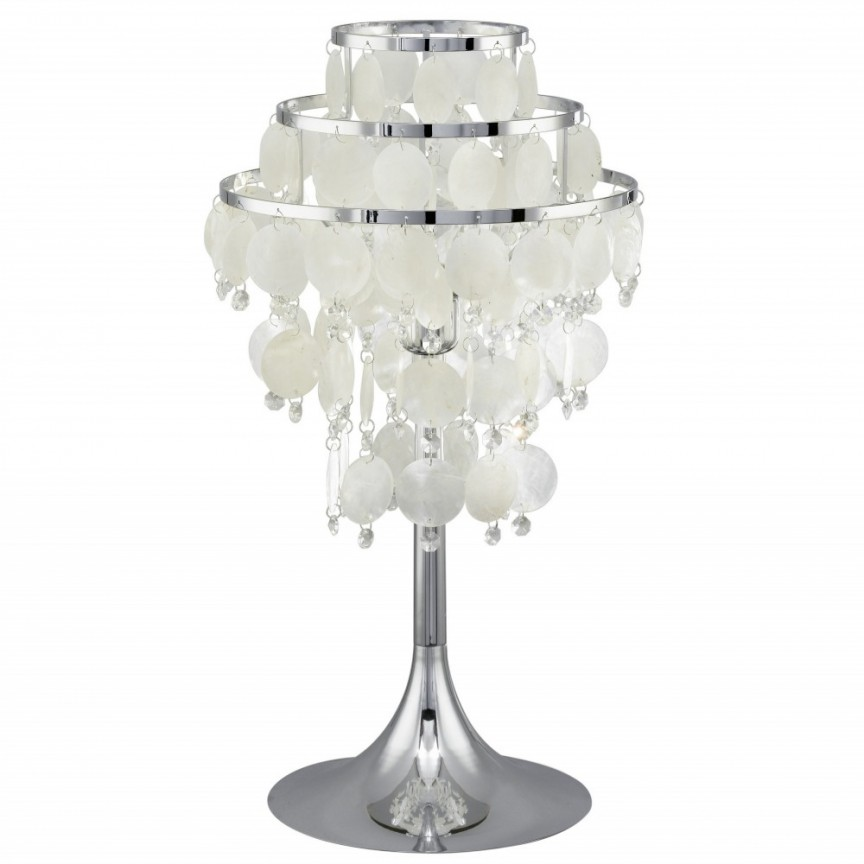 Veioza eleganta CHIPSY 90035 EL, Veioze, Lampi de masa, Corpuri de iluminat, lustre, aplice, veioze, lampadare, plafoniere. Mobilier si decoratiuni, oglinzi, scaune, fotolii. Oferte speciale iluminat interior si exterior. Livram in toata tara.  a