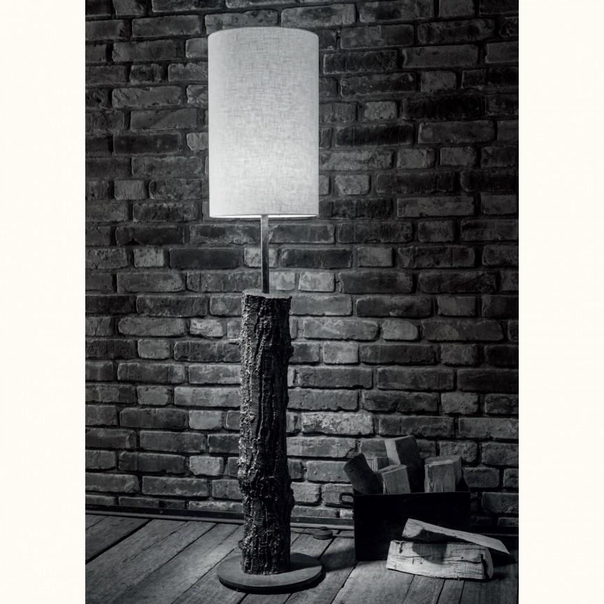 Lampadar design scoarta de copac din aluminiu turnat SL 112, Veioze, Lampadare Fier Forjat,  a
