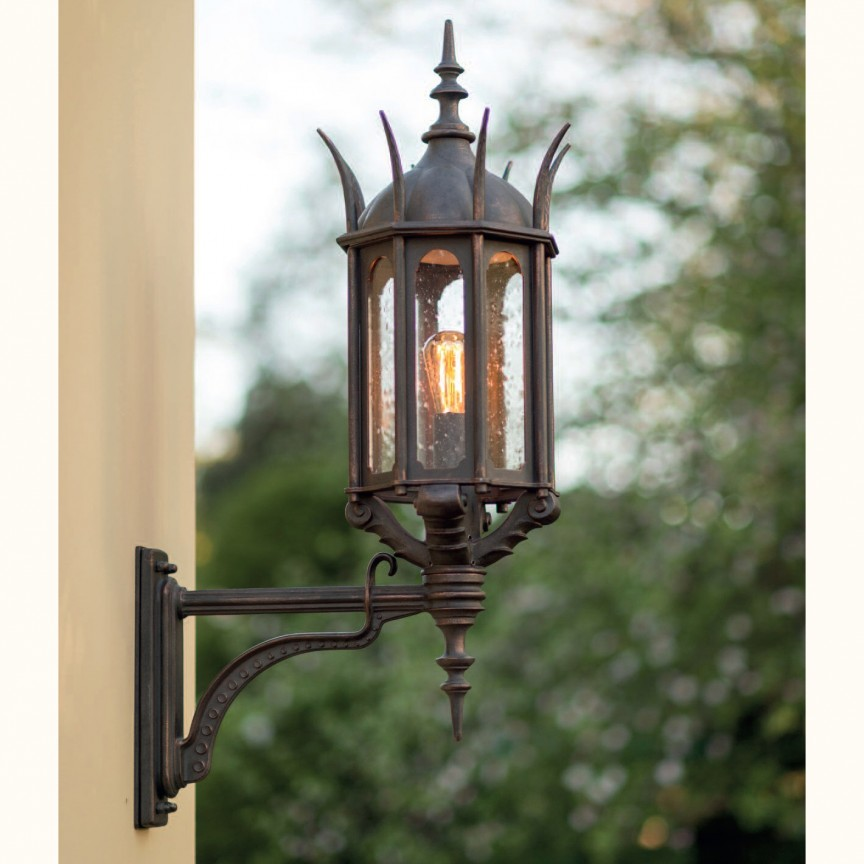 Aplica iluminat exterior din fier forjat WL 3667, ILUMINAT FIER FORJAT DE LUX , Corpuri de iluminat, lustre, aplice, veioze, lampadare, plafoniere. Mobilier si decoratiuni, oglinzi, scaune, fotolii. Oferte speciale iluminat interior si exterior. Livram in toata tara.  a