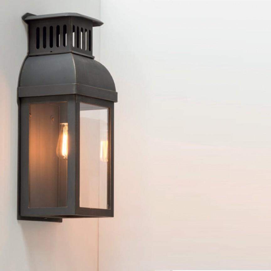 Aplica iluminat exterior din fier forjat, WL 3628, ILUMINAT FIER FORJAT DE LUX , Corpuri de iluminat, lustre, aplice, veioze, lampadare, plafoniere. Mobilier si decoratiuni, oglinzi, scaune, fotolii. Oferte speciale iluminat interior si exterior. Livram in toata tara.  a