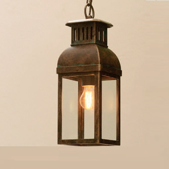 Pendul iluminat exterior din fier forjat, HL 2584, Lustre, Candelabre Fier Forjat,  a