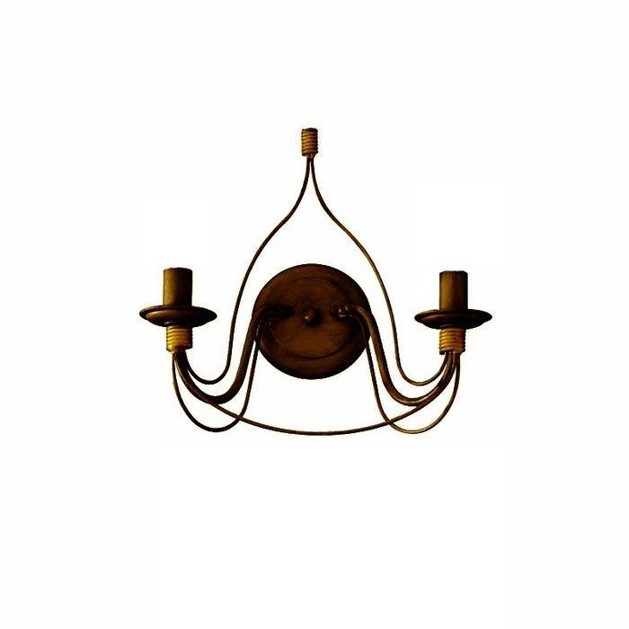 Aplica perete design rustic CORTE AP2 RUGGINE 057200, ILUMINAT INTERIOR RUSTIC, Corpuri de iluminat, lustre, aplice, veioze, lampadare, plafoniere. Mobilier si decoratiuni, oglinzi, scaune, fotolii. Oferte speciale iluminat interior si exterior. Livram in toata tara.  a