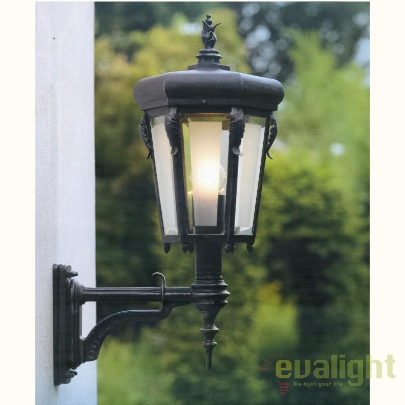 Aplica iluminat exterior din fier forjat, WL 3615, ILUMINAT FIER FORJAT DE LUX , Corpuri de iluminat, lustre, aplice, veioze, lampadare, plafoniere. Mobilier si decoratiuni, oglinzi, scaune, fotolii. Oferte speciale iluminat interior si exterior. Livram in toata tara.  a
