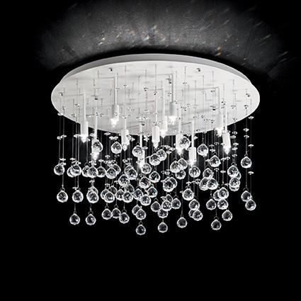 Plafoniera moderna design elegant MOONLIGHT PL12 BIANCO 164298, Lustre moderne aplicate, Corpuri de iluminat, lustre, aplice, veioze, lampadare, plafoniere. Mobilier si decoratiuni, oglinzi, scaune, fotolii. Oferte speciale iluminat interior si exterior. Livram in toata tara.  a