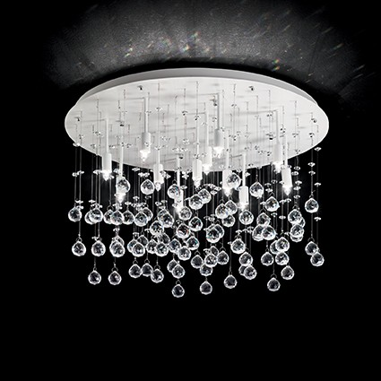 Plafoniera moderna design elegant MOONLIGHT PL12 BIANCO 164298, Magazin, Corpuri de iluminat, lustre, aplice, veioze, lampadare, plafoniere. Mobilier si decoratiuni, oglinzi, scaune, fotolii. Oferte speciale iluminat interior si exterior. Livram in toata tara.  a