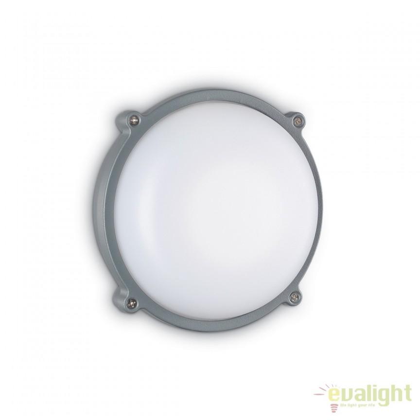 Aplica de exterior stil modern MORGAN AP1 BIG 162034, ILUMINAT EXTERIOR, Corpuri de iluminat, lustre, aplice, veioze, lampadare, plafoniere. Mobilier si decoratiuni, oglinzi, scaune, fotolii. Oferte speciale iluminat interior si exterior. Livram in toata tara.  a