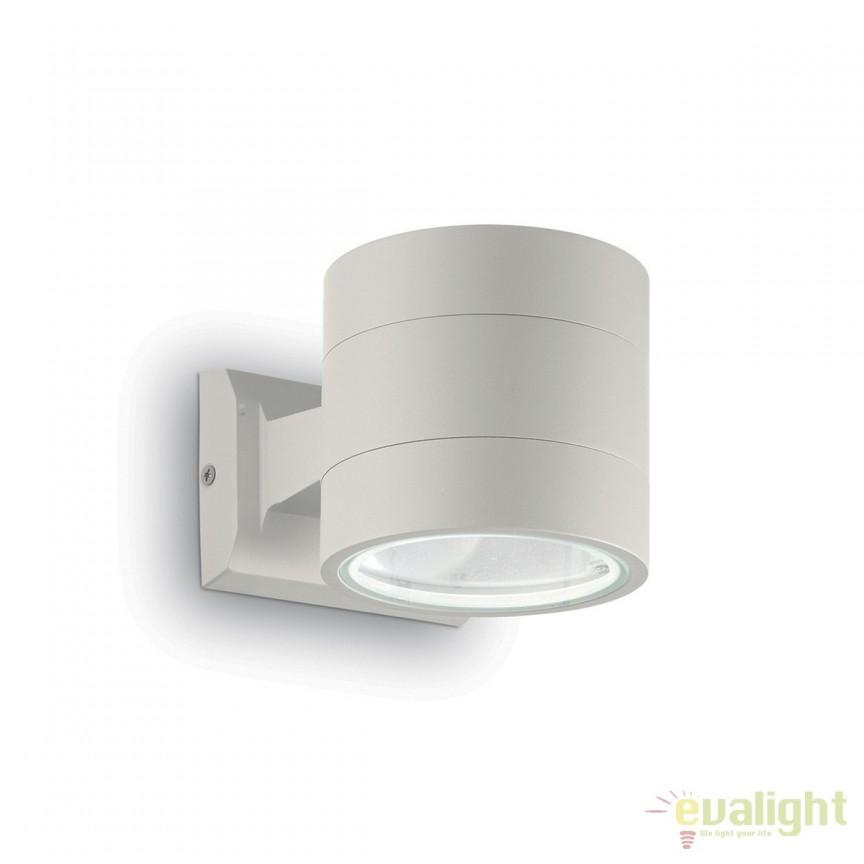 Aplica moderna iluminat exterior IP54 SNIF AP1 ROUND 144283, Aplice de exterior moderne , Corpuri de iluminat, lustre, aplice, veioze, lampadare, plafoniere. Mobilier si decoratiuni, oglinzi, scaune, fotolii. Oferte speciale iluminat interior si exterior. Livram in toata tara.  a