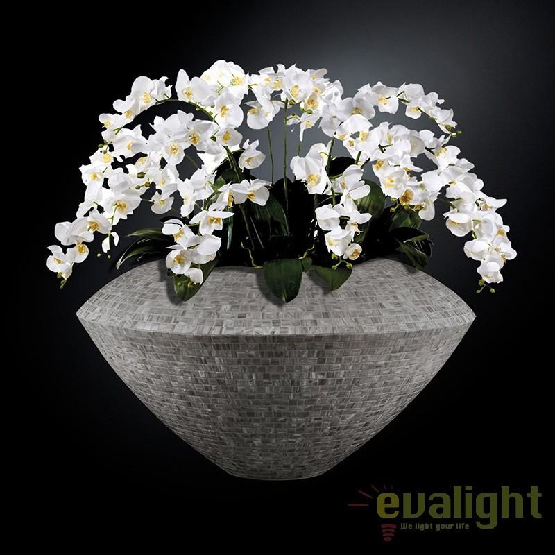 Aranjament floral mare ENEZIA MOSAICO BISAZZA, 110cm 1141242.80, Aranjamente florale LUX, Corpuri de iluminat, lustre, aplice, veioze, lampadare, plafoniere. Mobilier si decoratiuni, oglinzi, scaune, fotolii. Oferte speciale iluminat interior si exterior. Livram in toata tara.  a