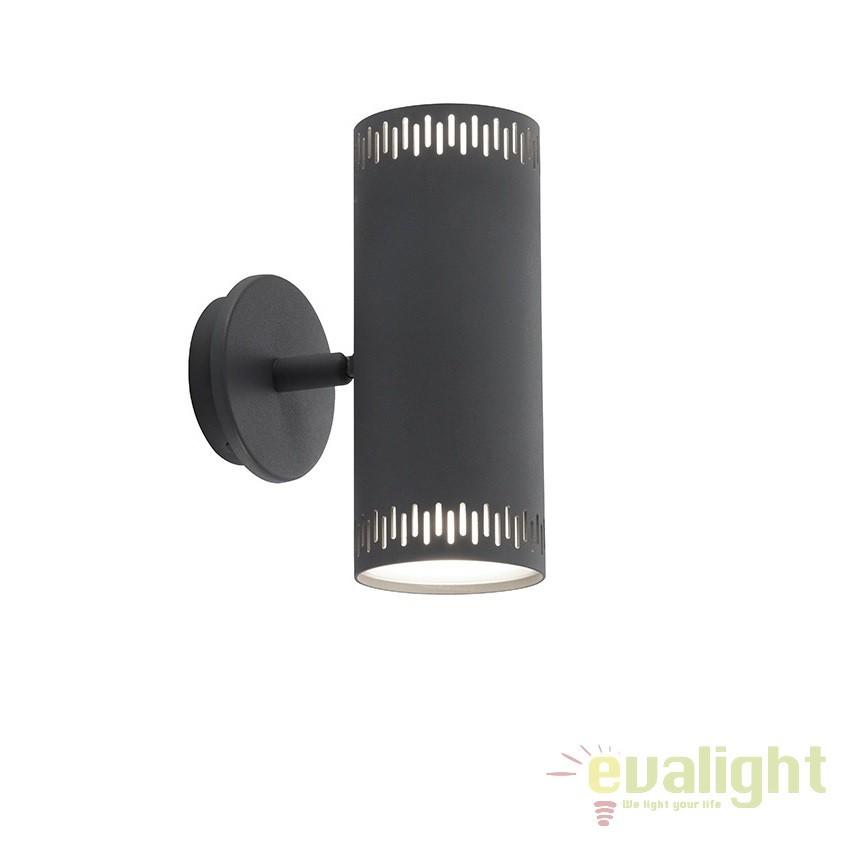Aplica LED directionabila iluminat up-and-down Cavi gri inchis G73192/22 BL, Aplice de perete LED, Corpuri de iluminat, lustre, aplice, veioze, lampadare, plafoniere. Mobilier si decoratiuni, oglinzi, scaune, fotolii. Oferte speciale iluminat interior si exterior. Livram in toata tara.  a