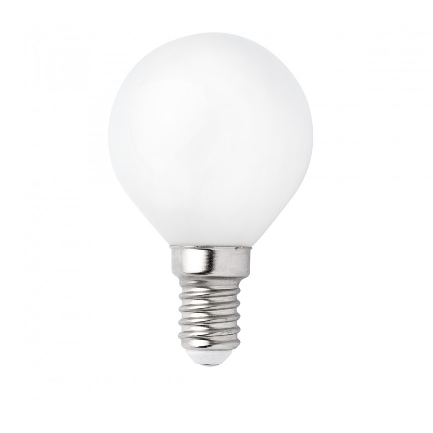 Bec E14 LED G45 MATE 3W 2700K 17451, Becuri E14, Corpuri de iluminat, lustre, aplice, veioze, lampadare, plafoniere. Mobilier si decoratiuni, oglinzi, scaune, fotolii. Oferte speciale iluminat interior si exterior. Livram in toata tara.  a