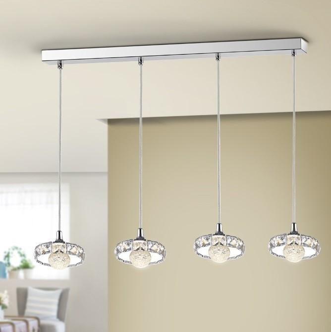 Lustra LED cu 4 Pendule design modern Suria SV-376484, Lustre LED, Pendule LED, Corpuri de iluminat, lustre, aplice, veioze, lampadare, plafoniere. Mobilier si decoratiuni, oglinzi, scaune, fotolii. Oferte speciale iluminat interior si exterior. Livram in toata tara.  a