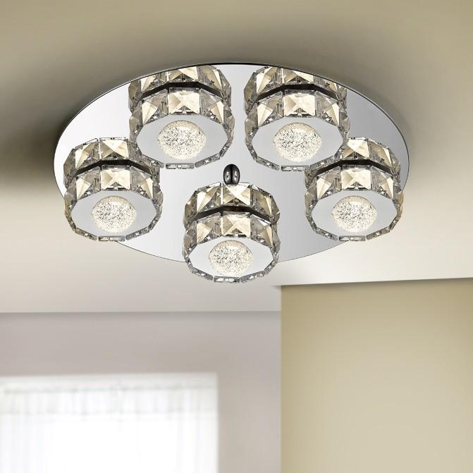Lustra LED aplicata design modern Suria SV-375837, Lustre LED, Pendule LED, Corpuri de iluminat, lustre, aplice, veioze, lampadare, plafoniere. Mobilier si decoratiuni, oglinzi, scaune, fotolii. Oferte speciale iluminat interior si exterior. Livram in toata tara.  a