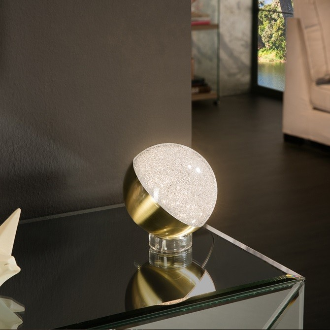 Veioza LED design modern Ø12 Sphere alama SV-794496, Veioze, Lampi de masa, Corpuri de iluminat, lustre, aplice, veioze, lampadare, plafoniere. Mobilier si decoratiuni, oglinzi, scaune, fotolii. Oferte speciale iluminat interior si exterior. Livram in toata tara.  a