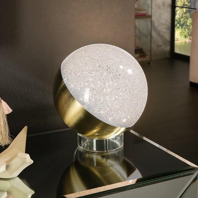 Veioza LED design modern Ø20 Sphere alama SV-794539, Veioze, Lampi de masa, Corpuri de iluminat, lustre, aplice, veioze, lampadare, plafoniere. Mobilier si decoratiuni, oglinzi, scaune, fotolii. Oferte speciale iluminat interior si exterior. Livram in toata tara.  a