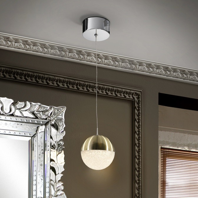 Pendul LED design modern Ø12 Sphere alama SV-793429, Promotii si Reduceri⭐ Oferte ✅Corpuri de iluminat ✅Lustre ✅Mobila ✅Decoratiuni de interior si exterior.⭕Pret redus online➜Lichidari de stoc❗ Magazin ➽ www.evalight.ro. a