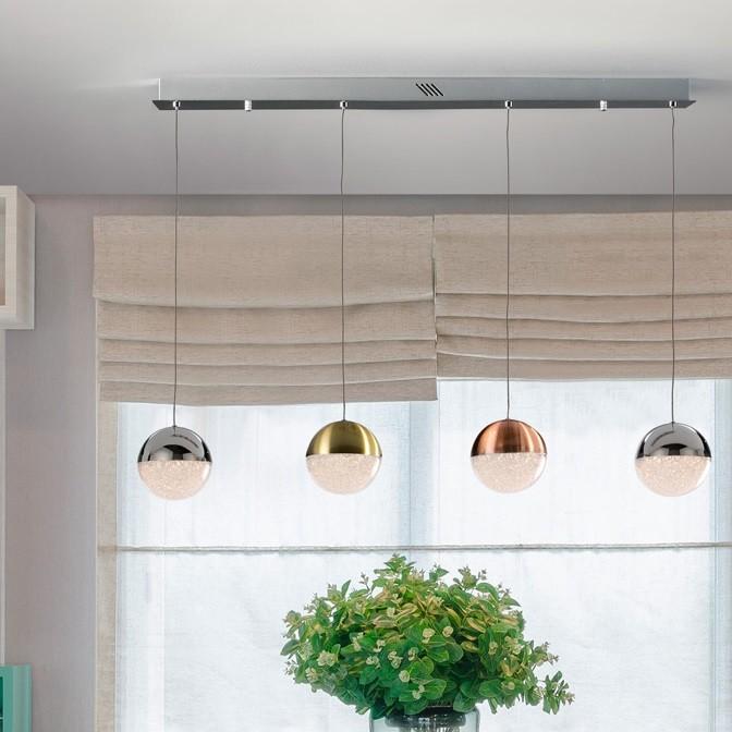 Lustra LED cu 4 pendule design modern Sphere SV-793659, Lustre LED, Pendule LED, Corpuri de iluminat, lustre, aplice, veioze, lampadare, plafoniere. Mobilier si decoratiuni, oglinzi, scaune, fotolii. Oferte speciale iluminat interior si exterior. Livram in toata tara.  a