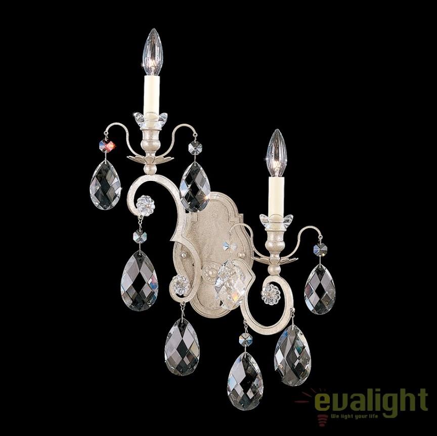 Aplica LUX stil baroc cu cristale Heritage, Renaissance 3757 Right, Magazin, Corpuri de iluminat, lustre, aplice, veioze, lampadare, plafoniere. Mobilier si decoratiuni, oglinzi, scaune, fotolii. Oferte speciale iluminat interior si exterior. Livram in toata tara.  a