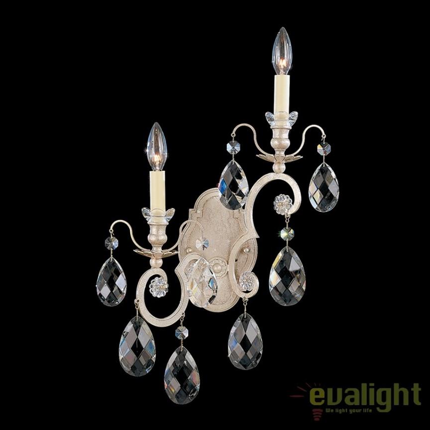 Aplica LUX stil baroc cu cristale Heritage, Renaissance 3758 Left, Aplice Cristal Schonbek , Corpuri de iluminat, lustre, aplice, veioze, lampadare, plafoniere. Mobilier si decoratiuni, oglinzi, scaune, fotolii. Oferte speciale iluminat interior si exterior. Livram in toata tara.  a