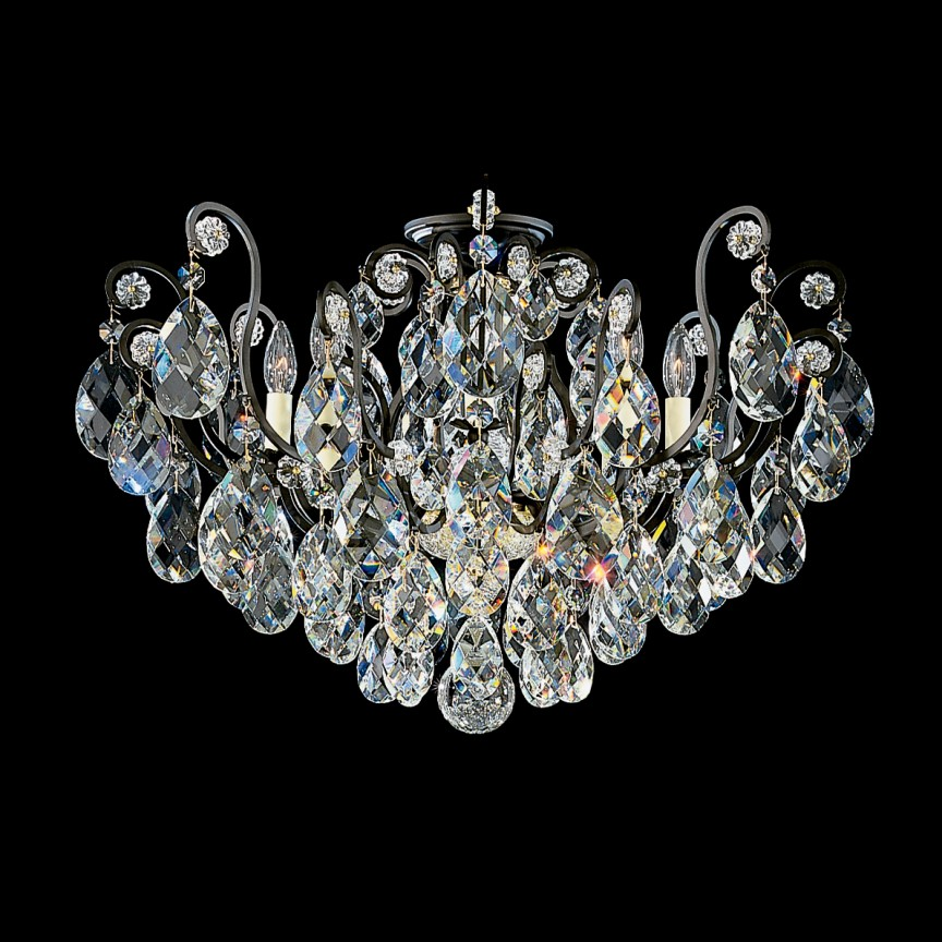 Plafoniera LUX stil baroc, cristal Heritage, Renaissance 3785, Plafoniere Cristal Schonbek , Corpuri de iluminat, lustre, aplice, veioze, lampadare, plafoniere. Mobilier si decoratiuni, oglinzi, scaune, fotolii. Oferte speciale iluminat interior si exterior. Livram in toata tara.  a